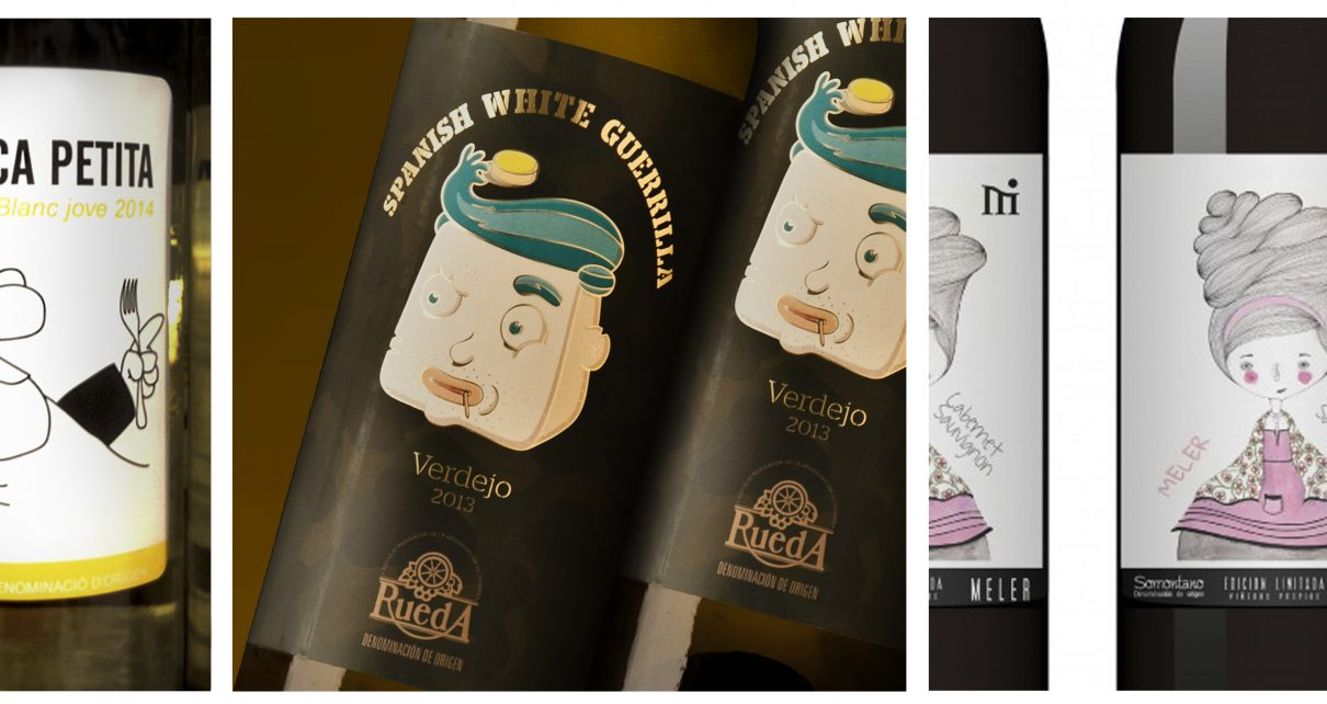 Wine labels 3 Trends, fashion and garbage